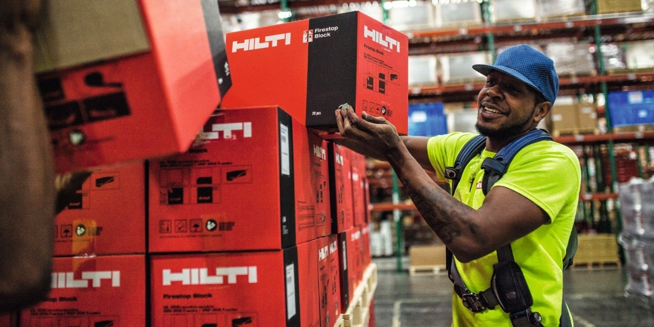 HILTI CONTINUES DOUBLE-DIGIT GROWTH RATE