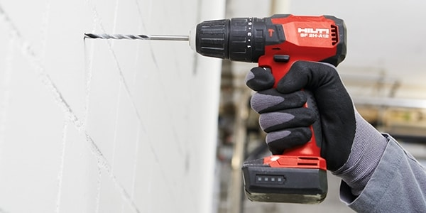 SF 2H-A12 for drilling through masonry
