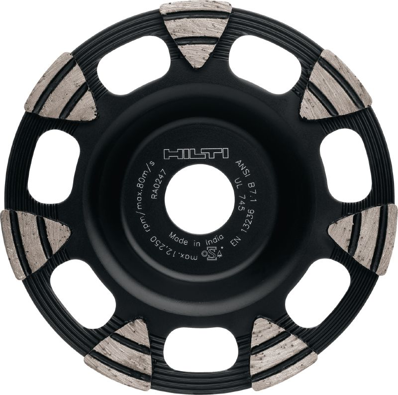 SP universal Premium diamond cup wheel for angle grinders – for faster grinding of concrete, screed and natural stone