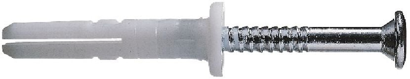HPS-1 Economical plastic impact anchor with carbon steel screw
